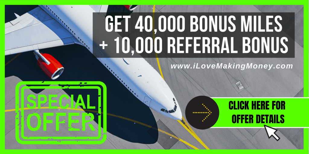Get 40,000 Bonus Points and 10,000 Referral Bonus Points with This Credit Card Offer