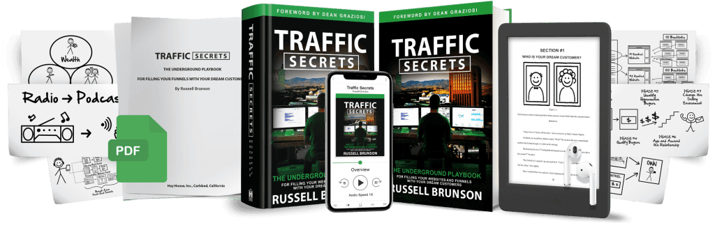 Traffic Secrets Book - How to Get Traffic to Your Website