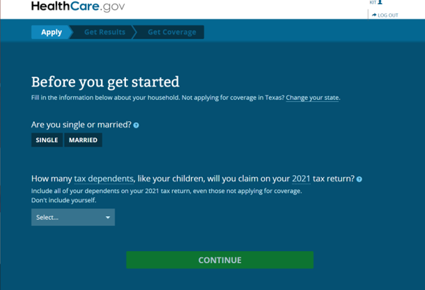 Before you get started on Healthcare Coverage