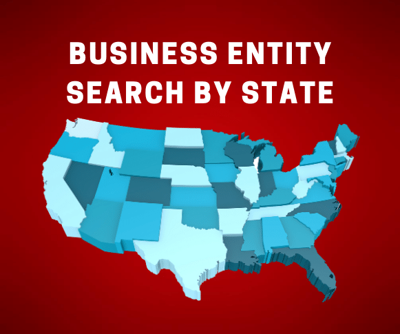 Search for Your Business Entity by Each State