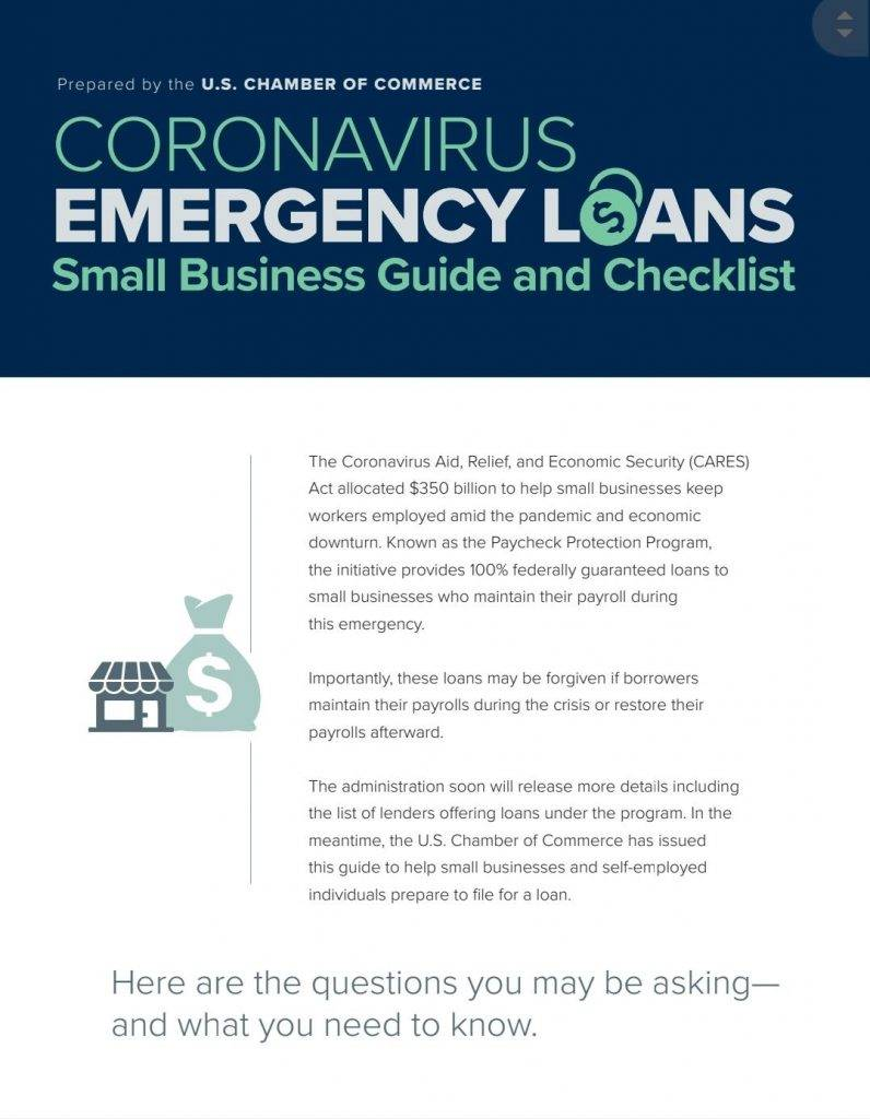 How to get emergency loans from the govt