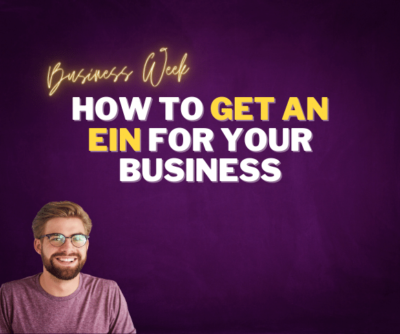 get an ein for your business