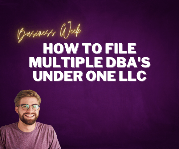 How to File Multiple DBA's