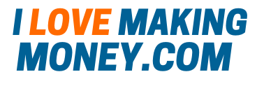 I love making money official website logo