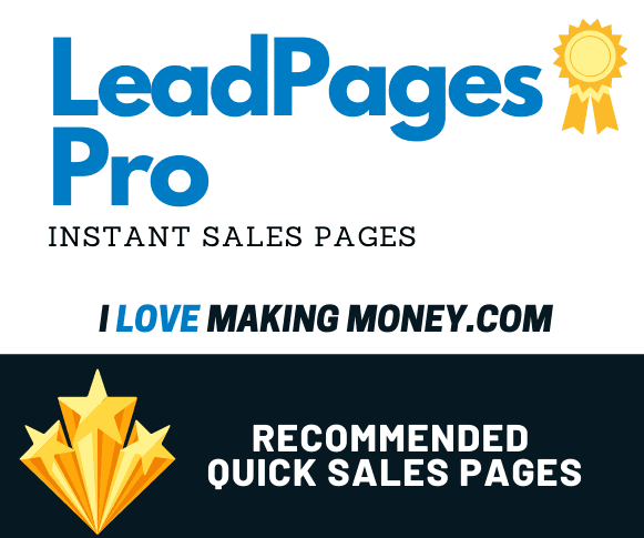 Lead Pages Review - Quick Sales Page