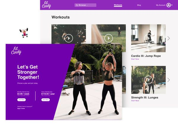 Ontraport Landing Page Examples