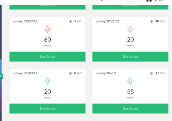 Survey Junkie Examples