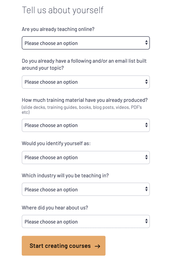 Thinkific Security Questions