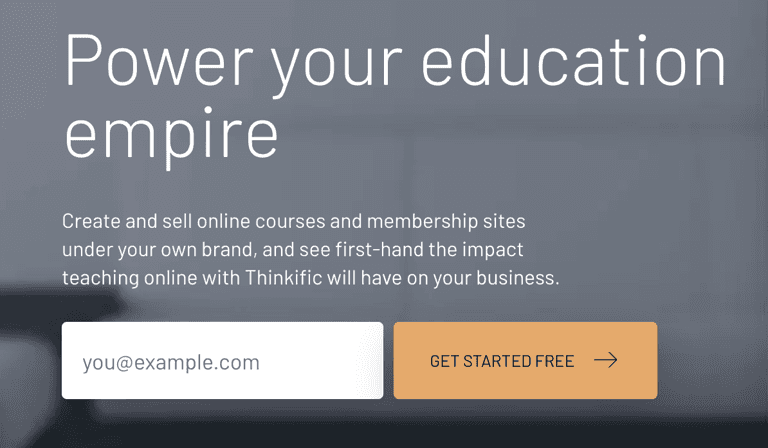Signup with Thinkific - Step by Step Instructions